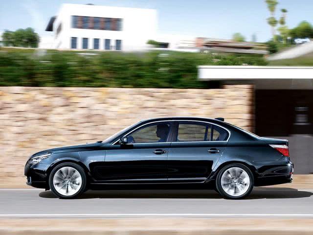 замена масла в акпп BMW 525 e60