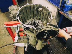 Ремонт АКПП Audi RS4